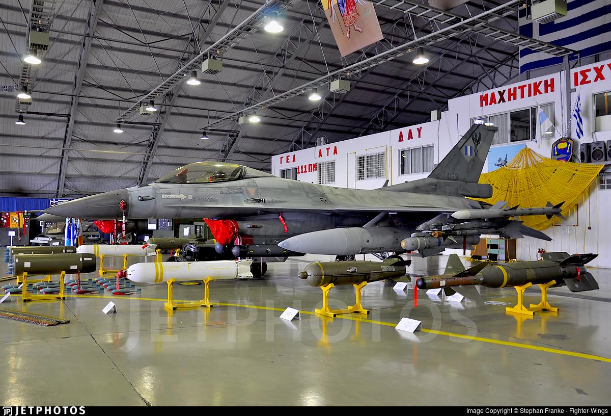 063 - Lockheed Martin F-16C Fighting Falcon - Greece - Air Force