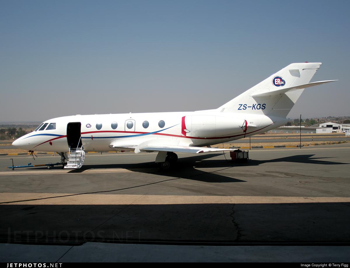 ZS-KGS - Dassault Falcon 20 - Private