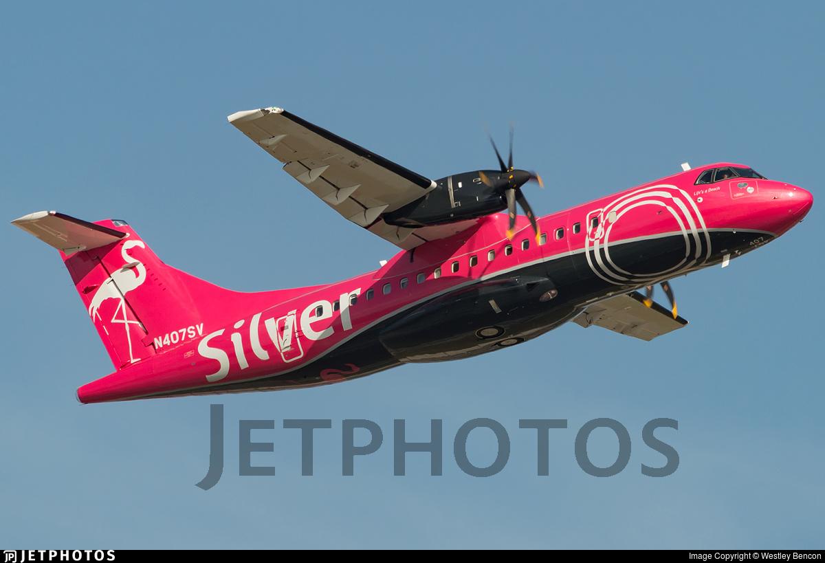 N407SV - ATR 42-600 - Silver Airways