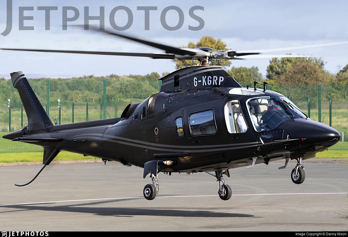 G-KGRP - Agusta-Westland AW-109E Power Elite - Private