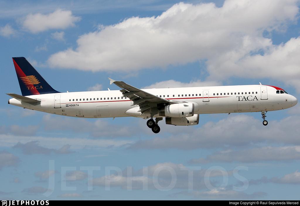 N566TA - Airbus A321-231 - TACA International Airlines