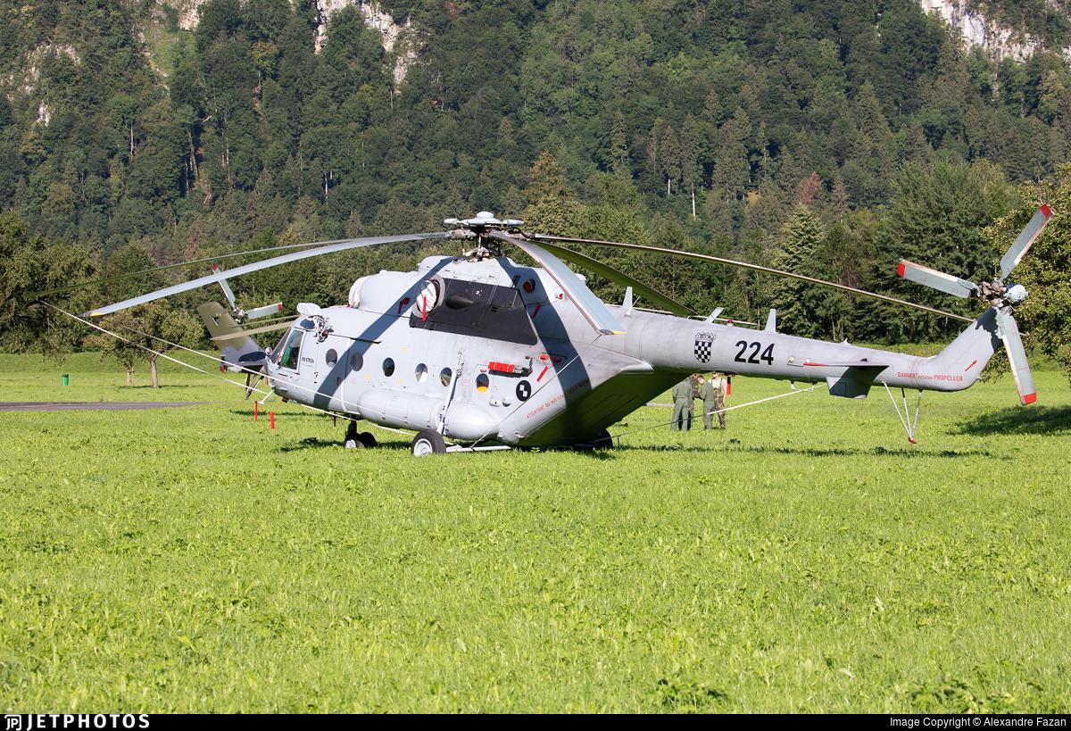 224 - Mil Mi-171Sh-P - Croatia - Air Force