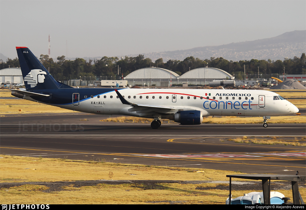 XA-ALL - Embraer 190-100LR - Aeroméxico Connect