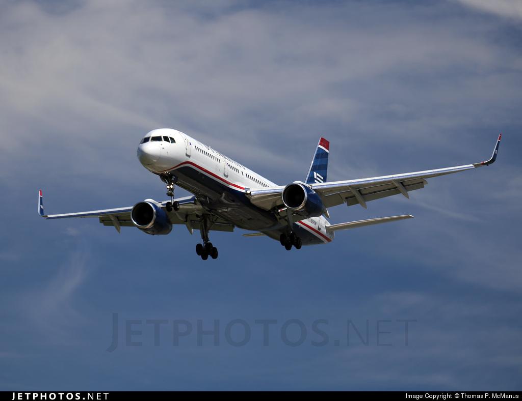 N204UW - Boeing 757-23N - US Airways