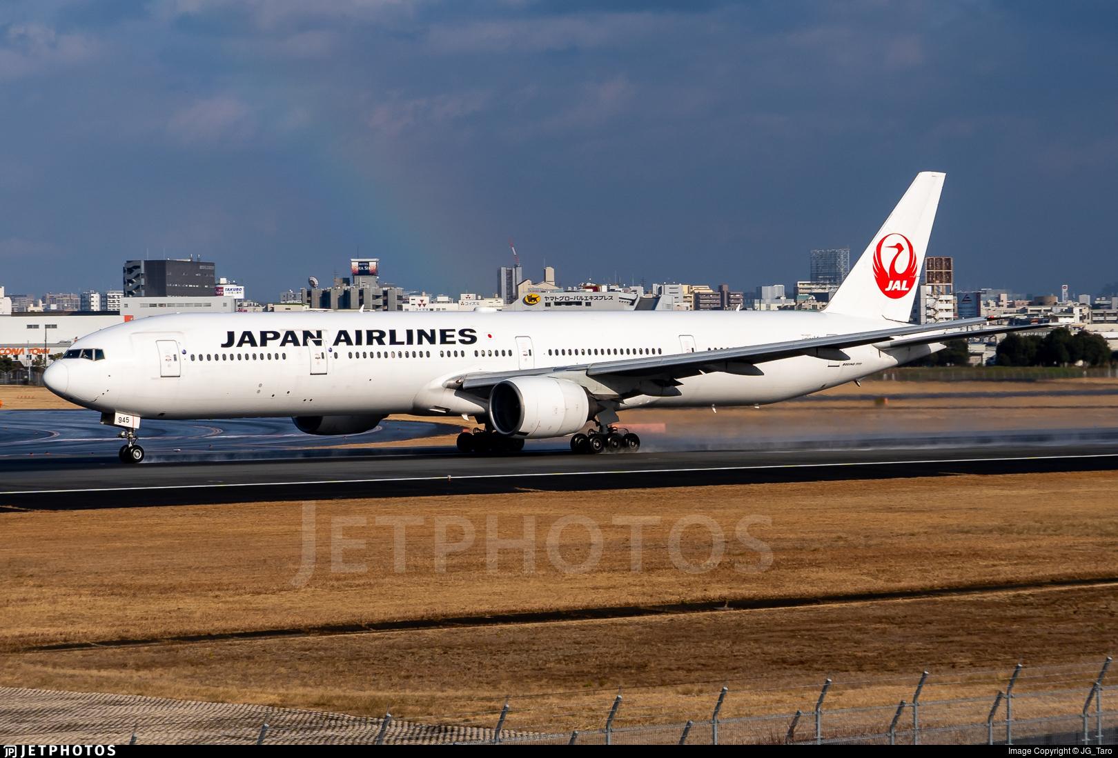JA8945 - Boeing 777-346 - Japan Airlines (JAL)