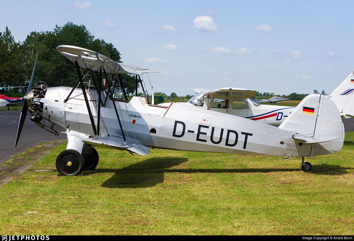 D-EUDT - Focke-Wulf Fw44 Stieglitz - Private