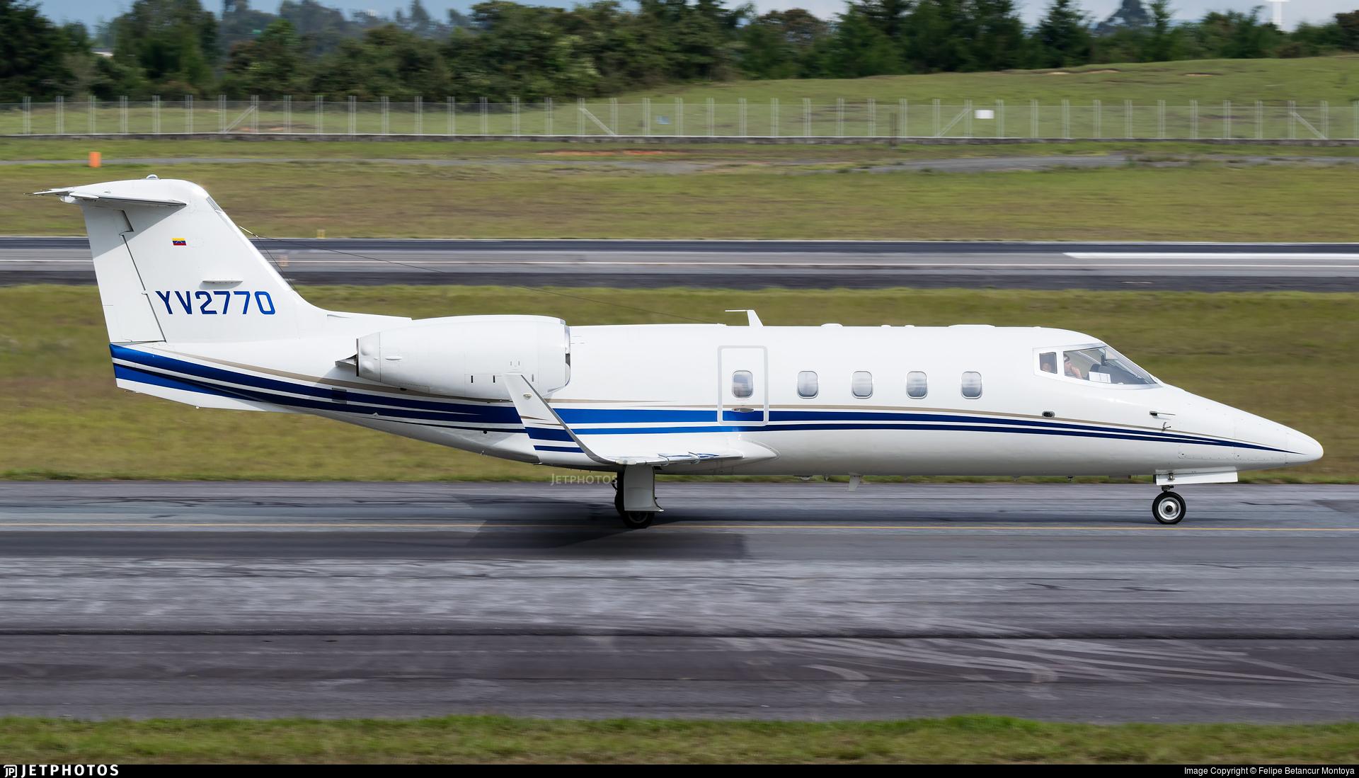 YV2770 - Bombardier Learjet 55B - Private