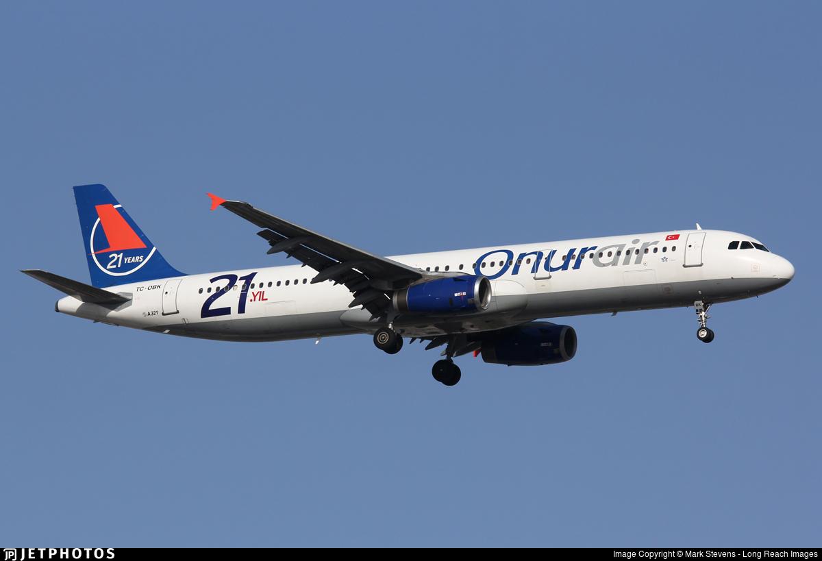 TC-OBK - Airbus A321-231 - Onur Air