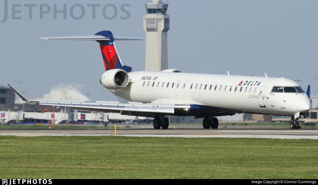 N829SK - Bombardier CRJ-900LR - Delta Connection (SkyWest Airlines)