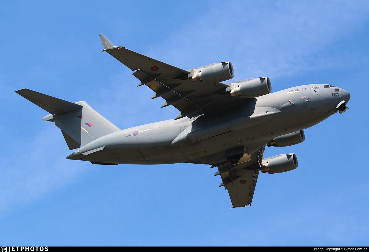 ZZ171 - Boeing C-17A Globemaster III - United Kingdom - Royal Air Force (RAF)