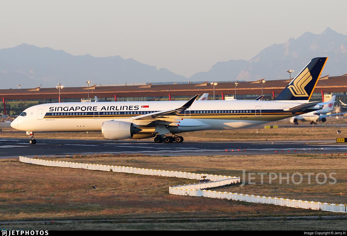 9V-SHC - Airbus A350-941 - Singapore Airlines