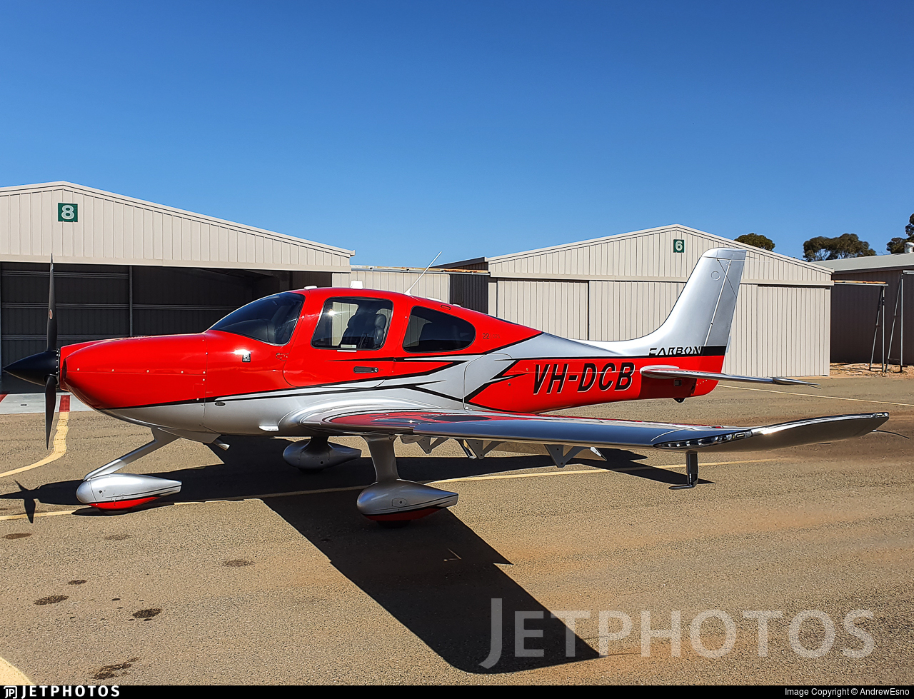 VH-DCB - Cirrus SR22-GTS G6 Carbon - Private
