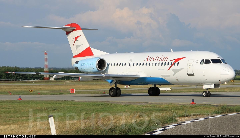 OE-LFJ - Fokker 70 - Austrian Airlines (Tyrolean Airways)