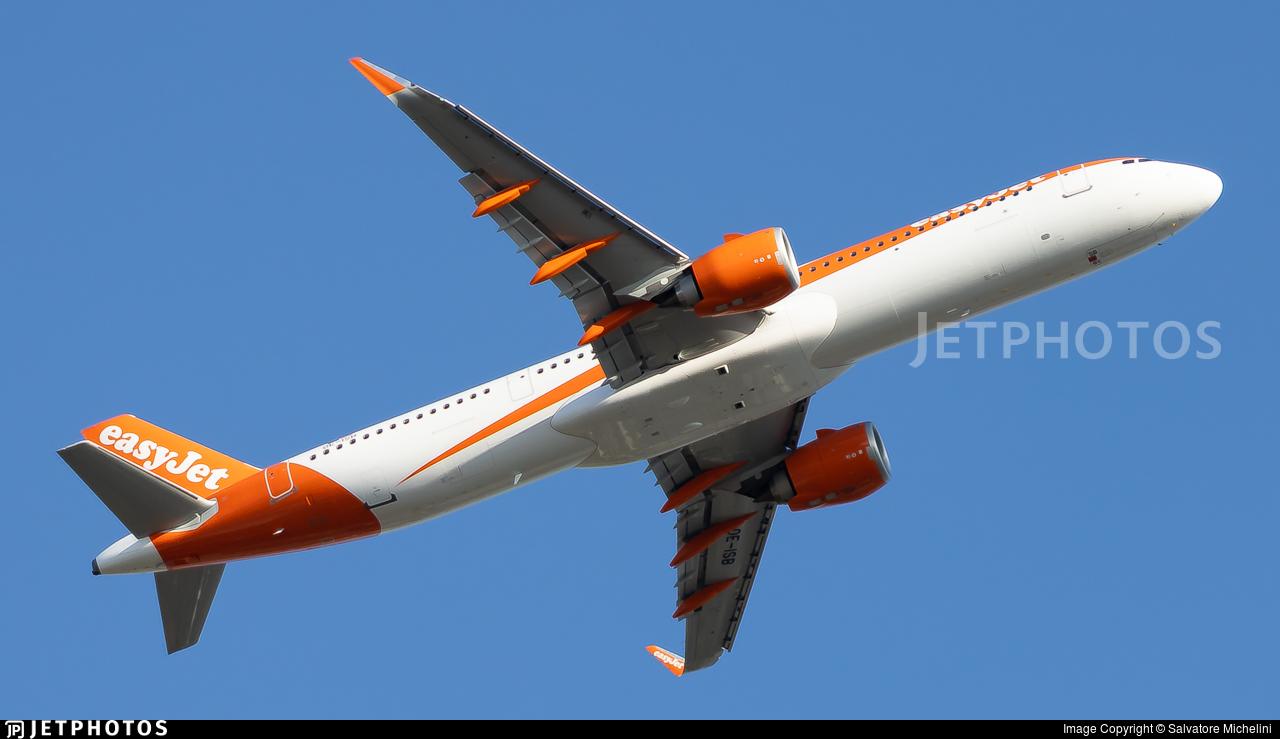 OE-ISB - Airbus A321-251NX - easyJet Europe