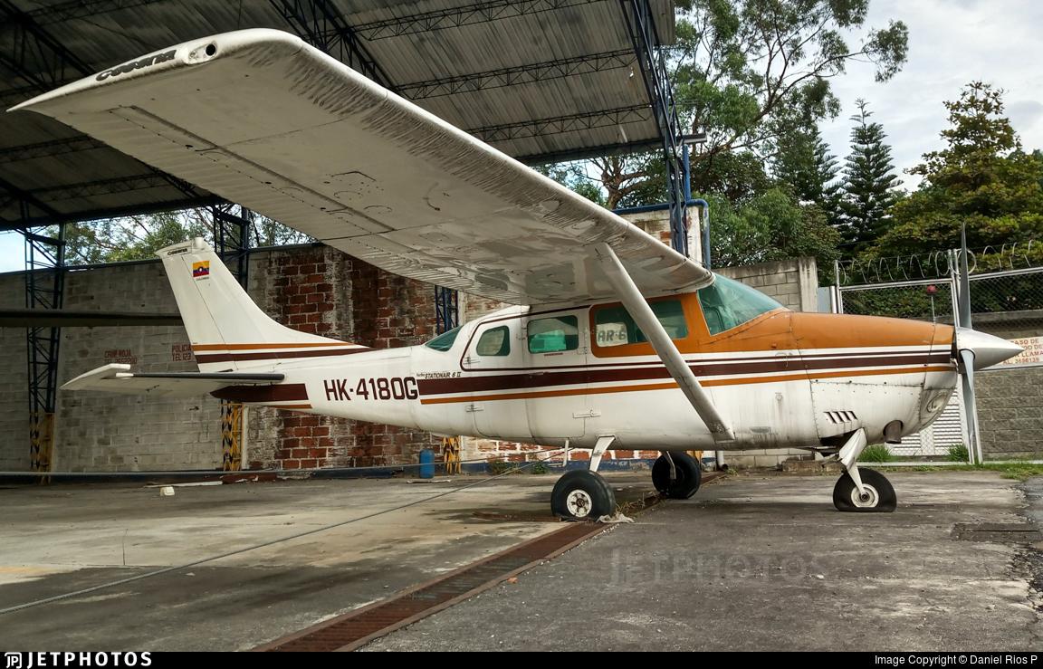 HK-4180-G - Cessna TU206D Turbo Stationair - Private