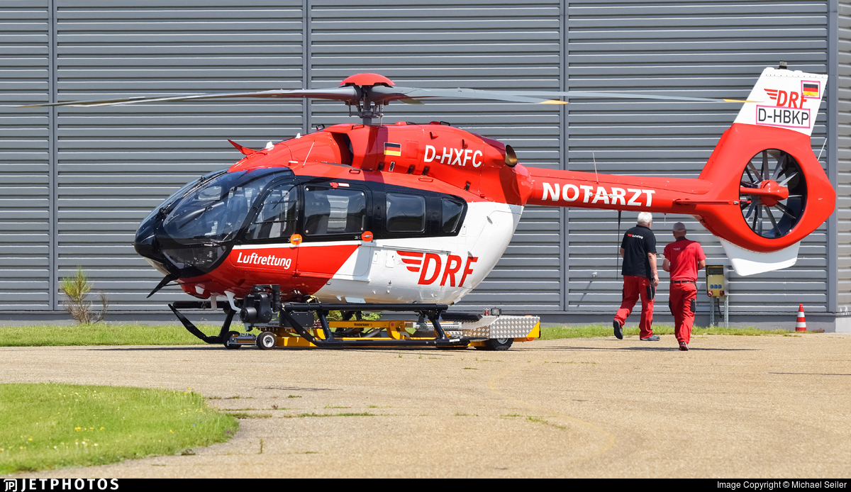 D-HXFC - Airbus Helicopters H145 - DRF Luftrettung