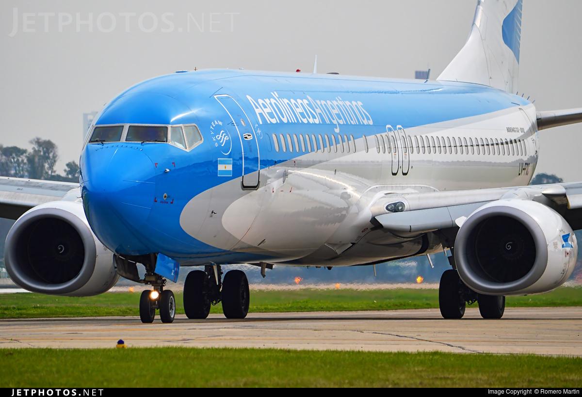 LV-FQC - Boeing 737-86J - Aerolíneas Argentinas