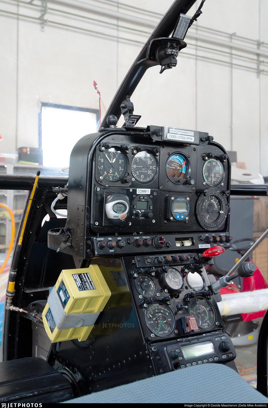 HB-XRD - Aérospatiale SA 315B Lama - Heli TV