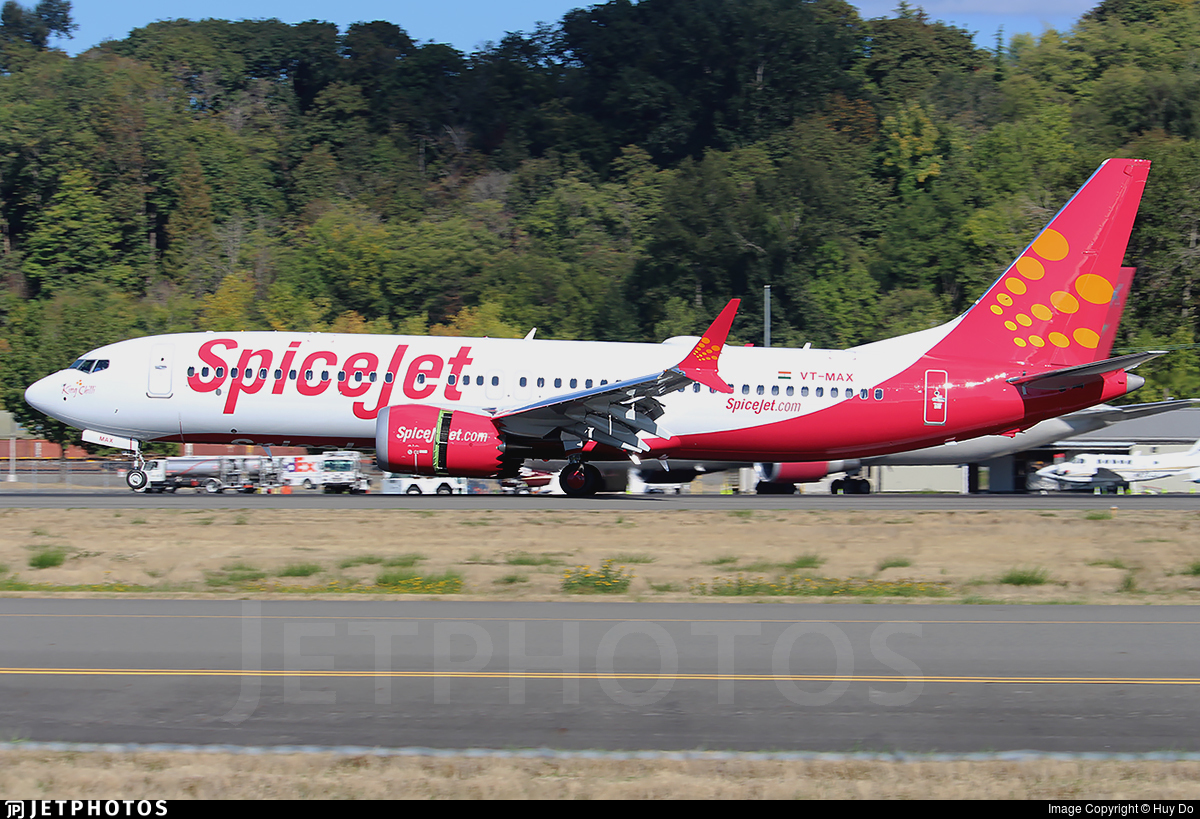 VT-MAX | Boeing 737-8 MAX | SpiceJet | Huy Do | JetPhotos