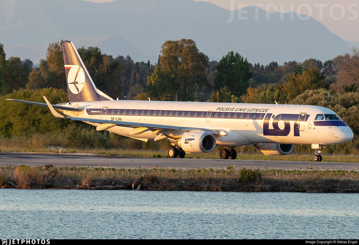 SP-LNA - Embraer 190-200LR - LOT Polish Airlines