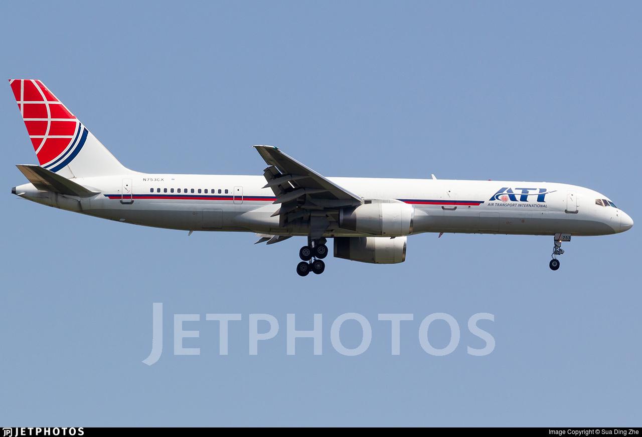 N753CX - Boeing 757-2Y0(SF) - Air Transport International (ATI)