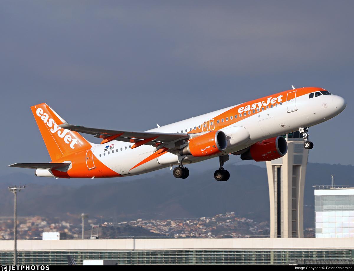 OE-ICI - Airbus A320-214 - easyJet Europe