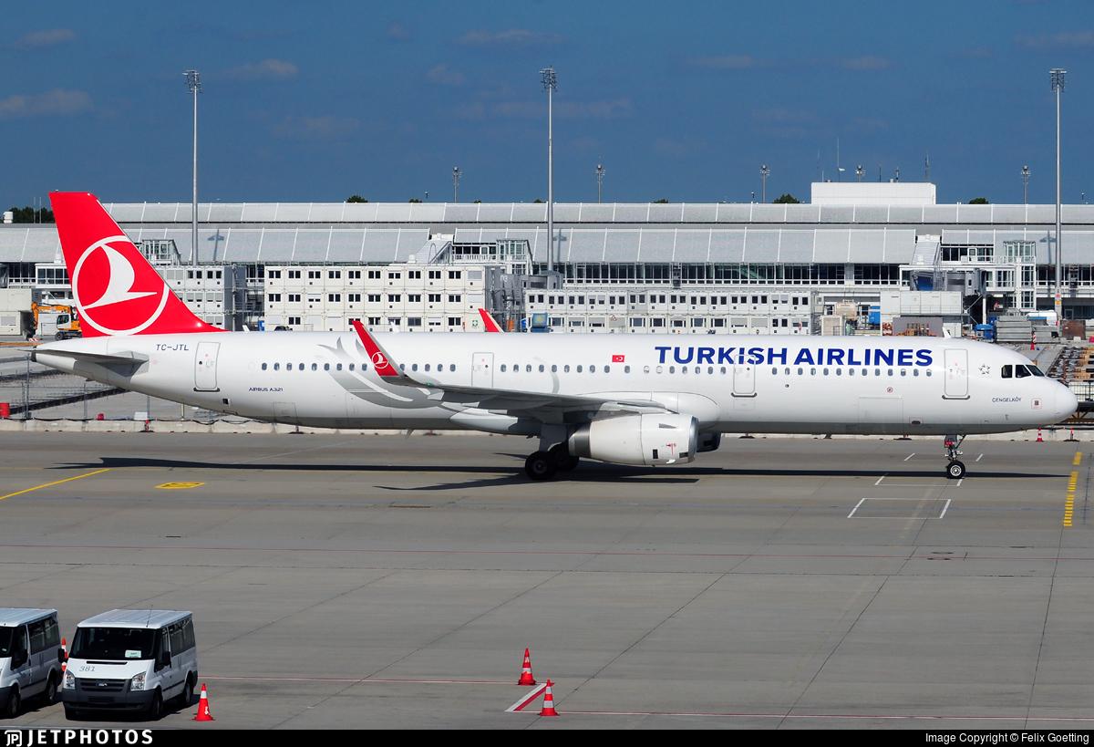 TC-JTL - Airbus A321-231 - Turkish Airlines