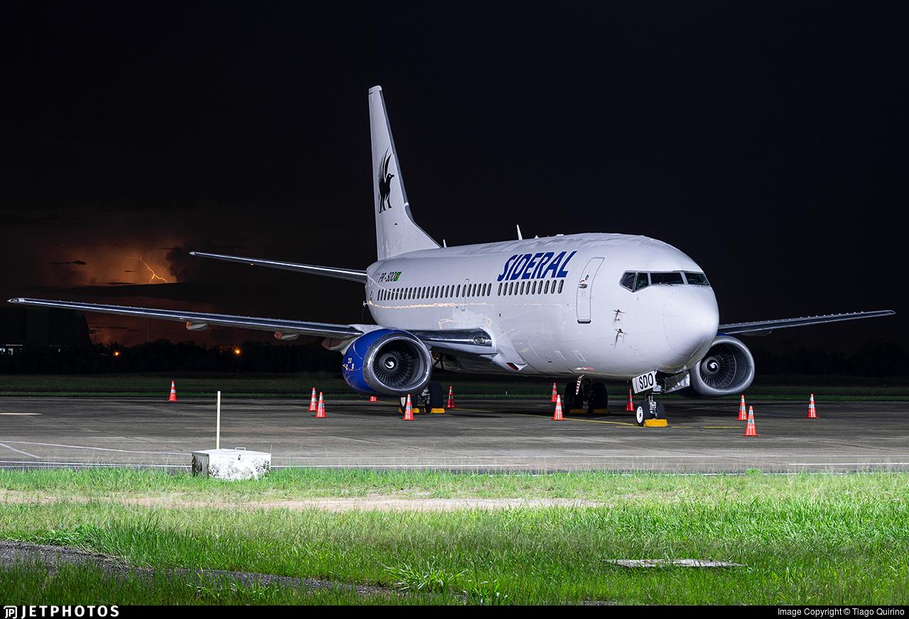 PR-SDO - Boeing 737-3B3(QC) - Sideral Air Cargo