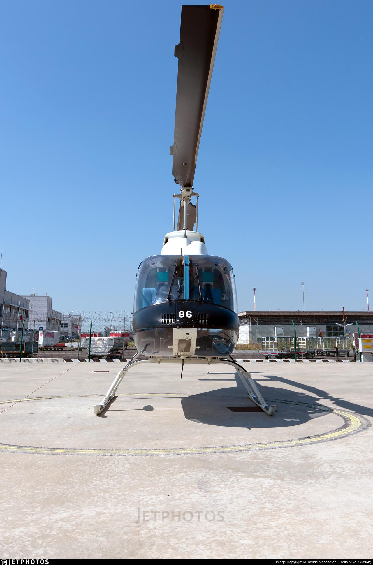 PS-86 - Agusta-Bell AB-206B JetRanger II - Italy - Polizia di Stato