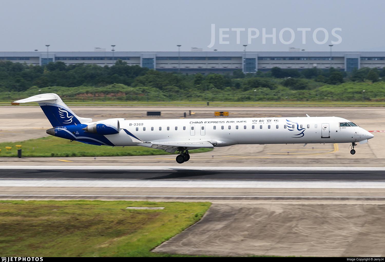B-3369 - Bombardier CRJ-900LR - China Express Airlines