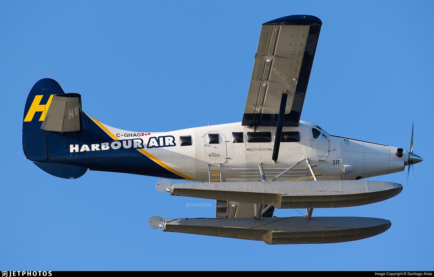 C-GHAG - De Havilland Canada DHC-3T Vazar Turbine Otter - Harbour Air