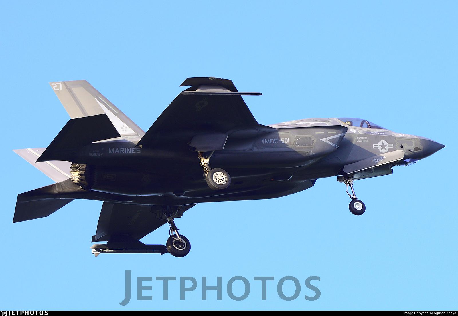 169027 - Lockheed Martin F-35B Lightning II - United States - US Marine Corps (USMC)