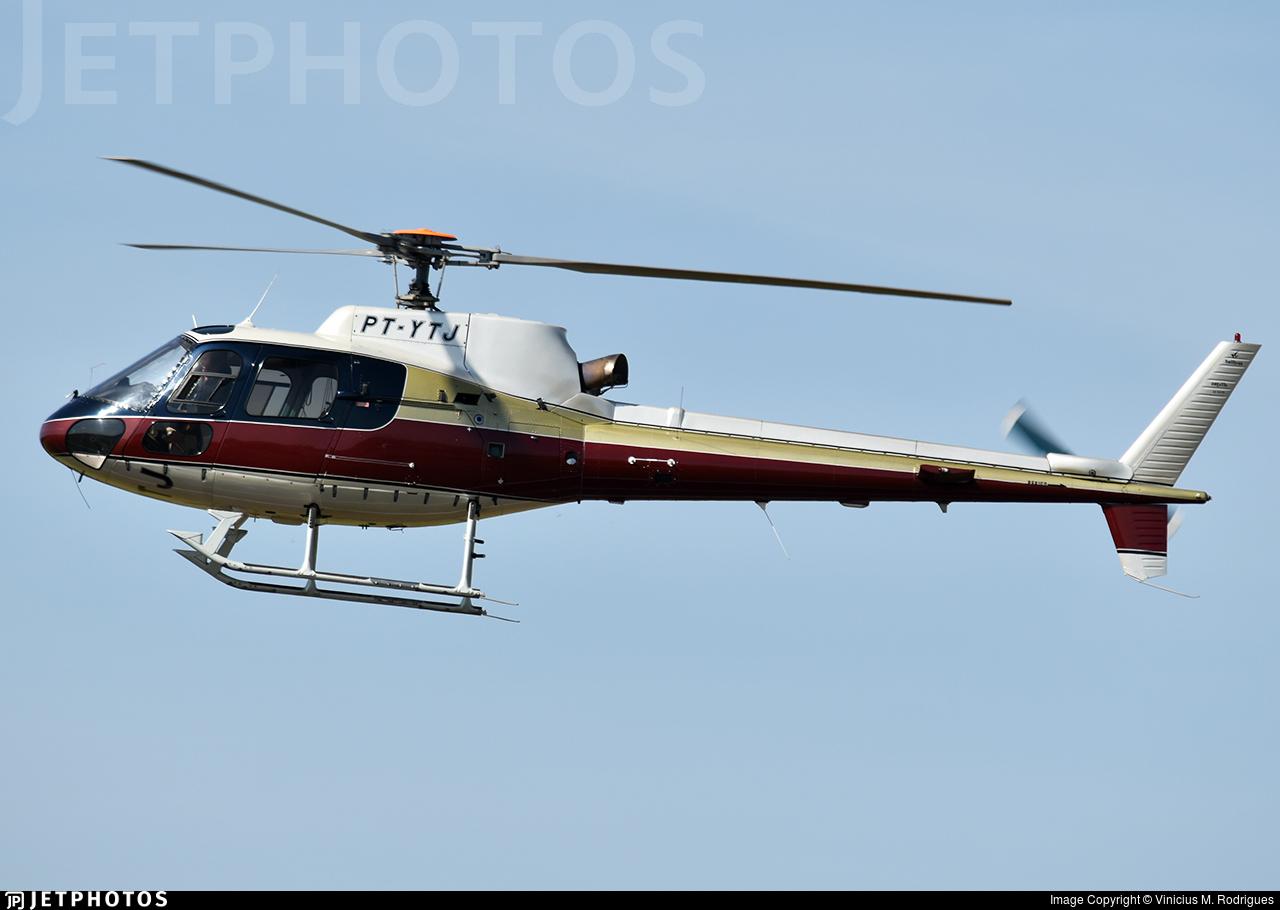 PT-YTJ - Helibrás AS-350B2 Esquilo - Private