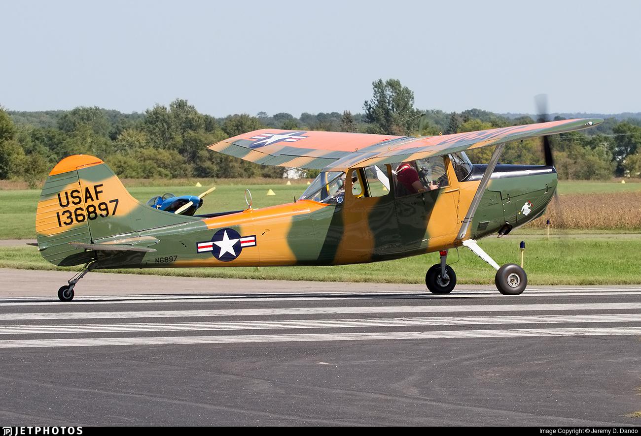 N6897 - Cessna 305A Bird Dog - Private
