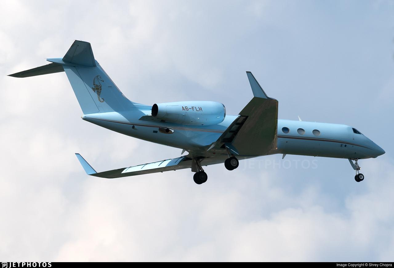 A6-FLH - Gulfstream G450 - Falcon Aviation Services