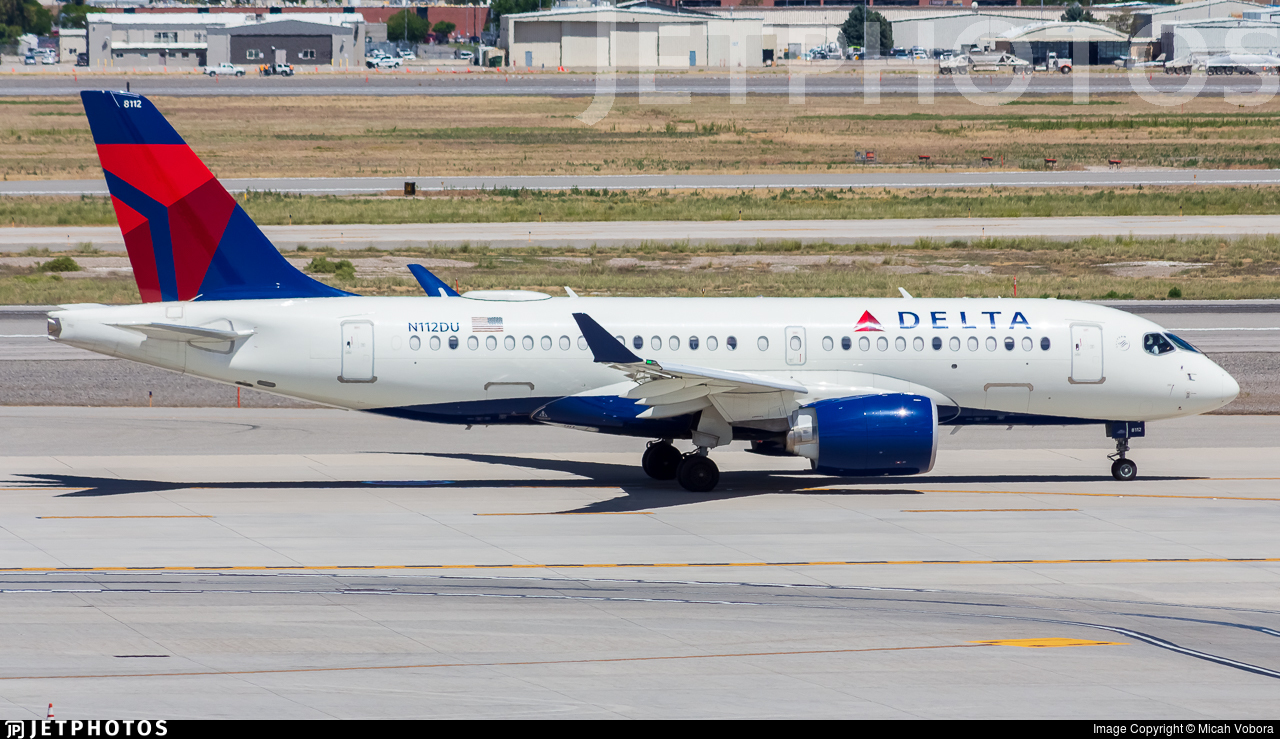 N112DU - Airbus A220-171 - Delta Air Lines