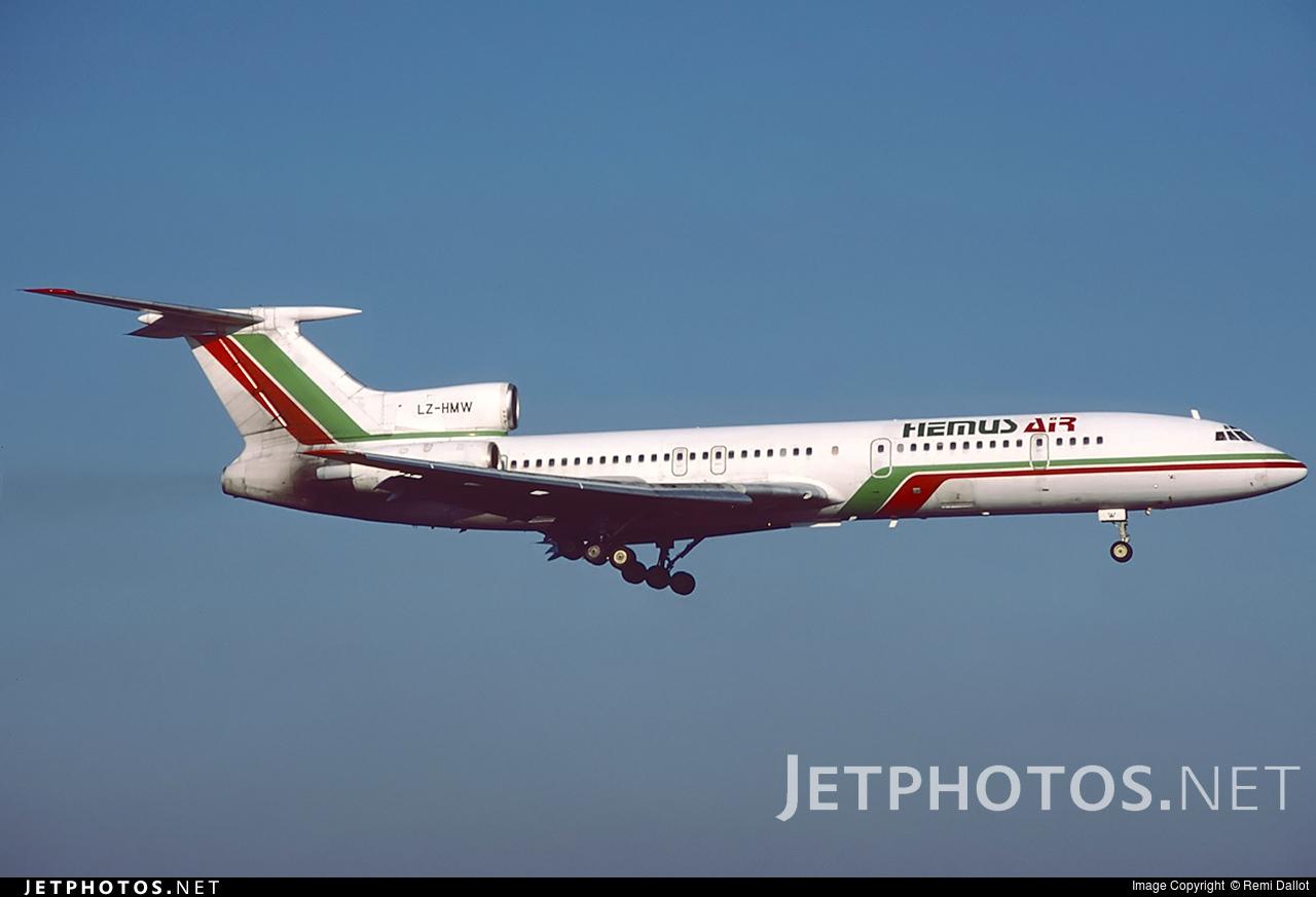 LZ-HMW - Tupolev Tu-154M - Hemus Air
