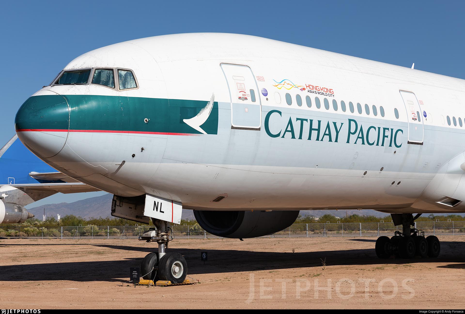 B-HNL - Boeing 777-267 - Cathay Pacific Airways