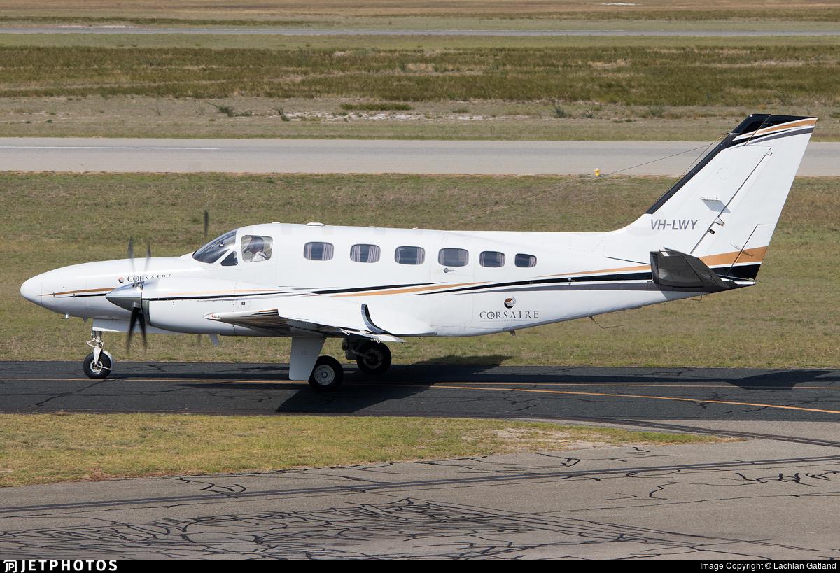 VH-LWY - Cessna 441 Conquest II - Corsaire