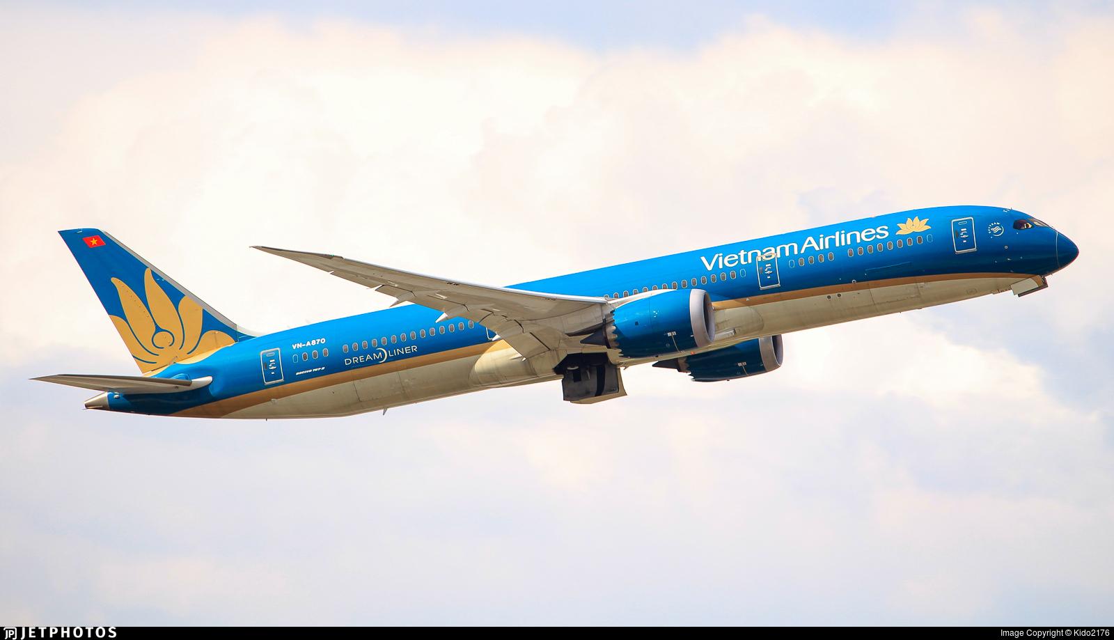 VN-A870 - Boeing 787-9 Dreamliner - Vietnam Airlines