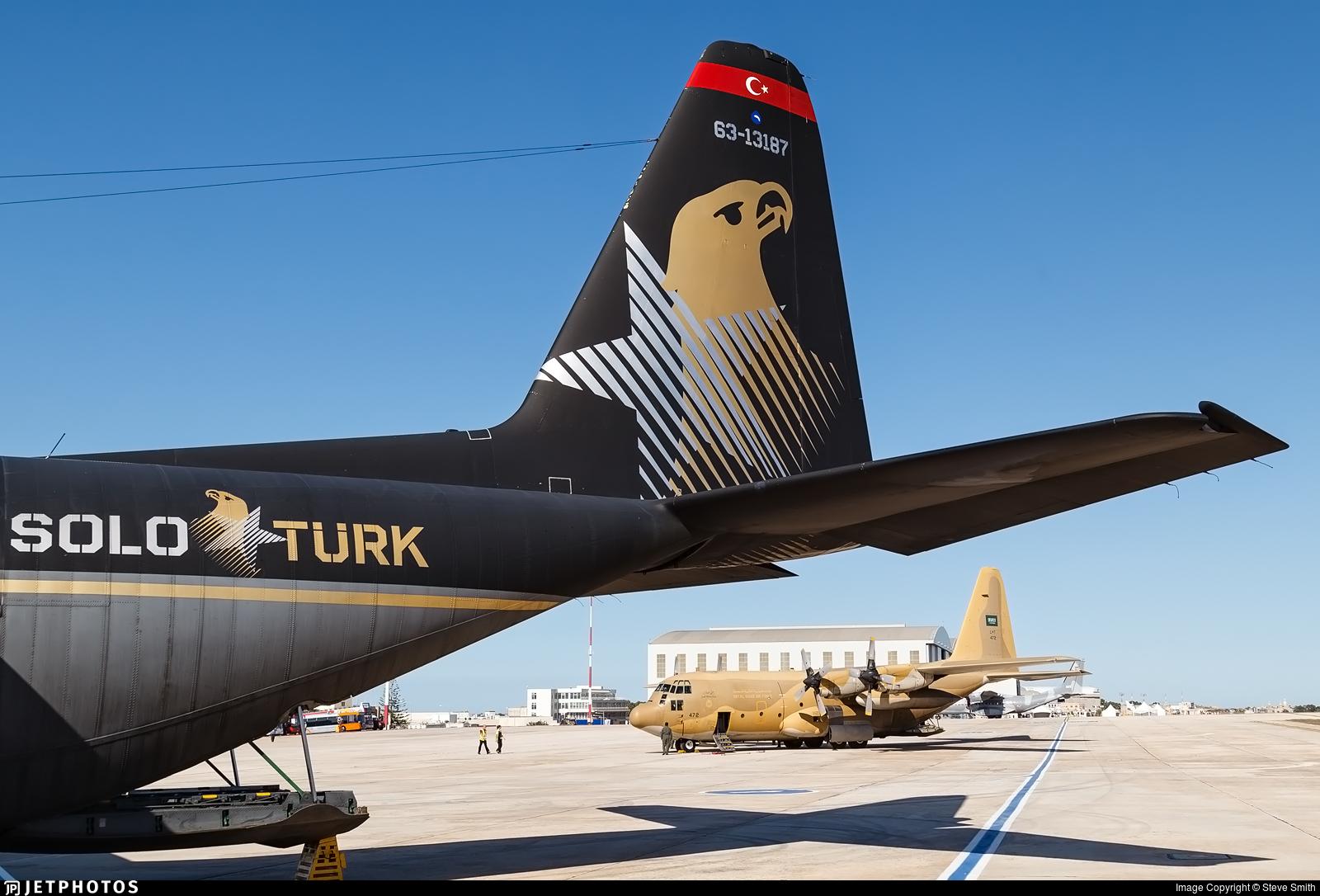 63-13187 - Lockheed C-130E Hercules - Turkey - Air Force