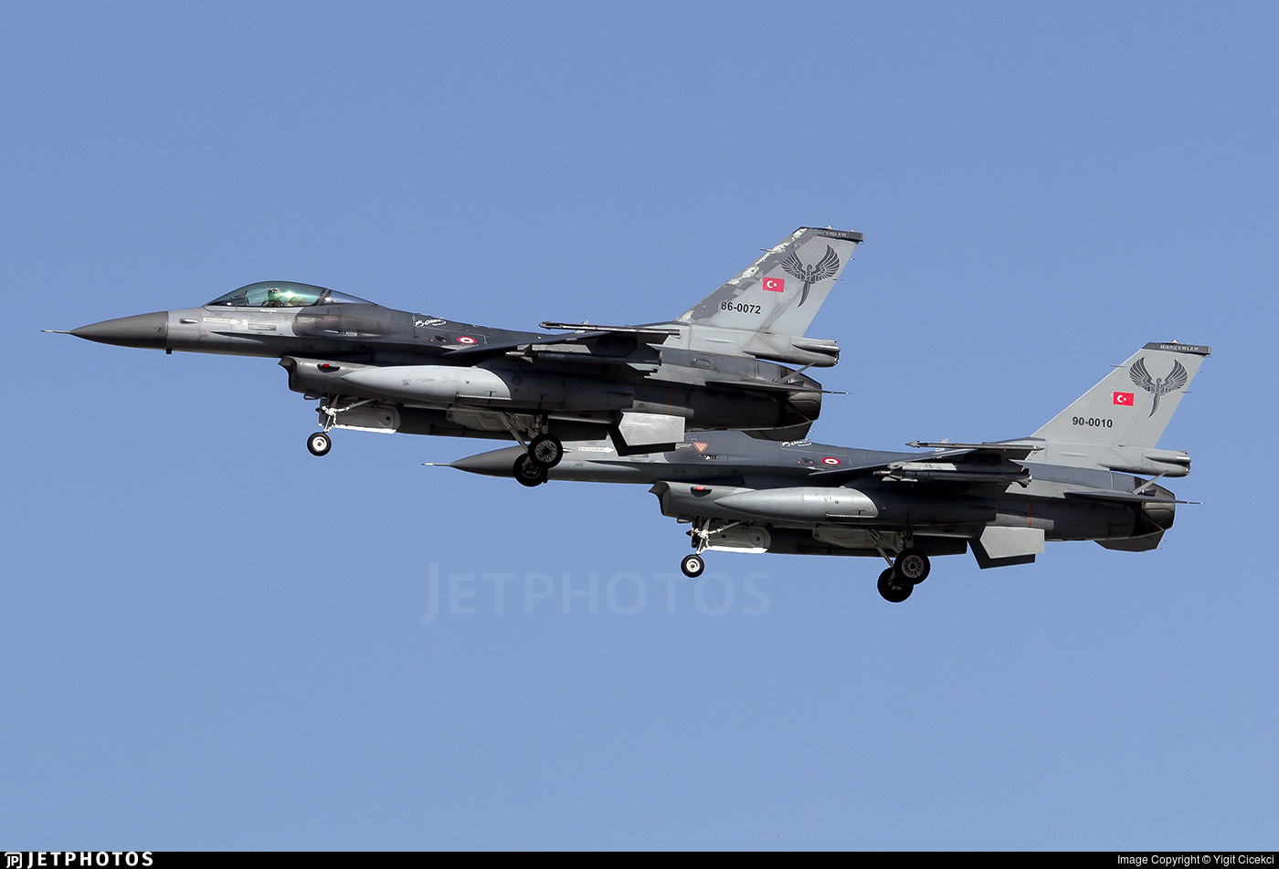86-0072 - General Dynamics F-16C Fighting Falcon - Turkey - Air Force