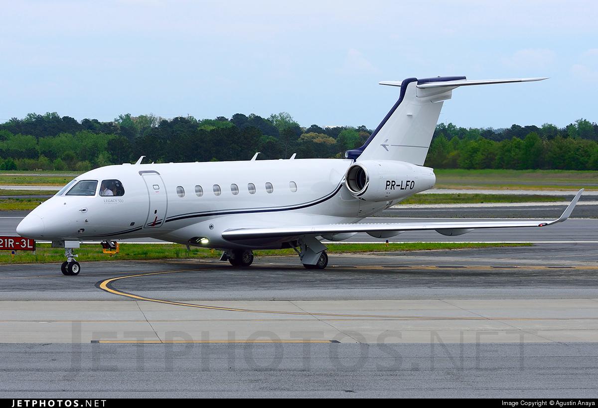 PR-LFO - Embraer EMB-550 Legacy 500 - Private