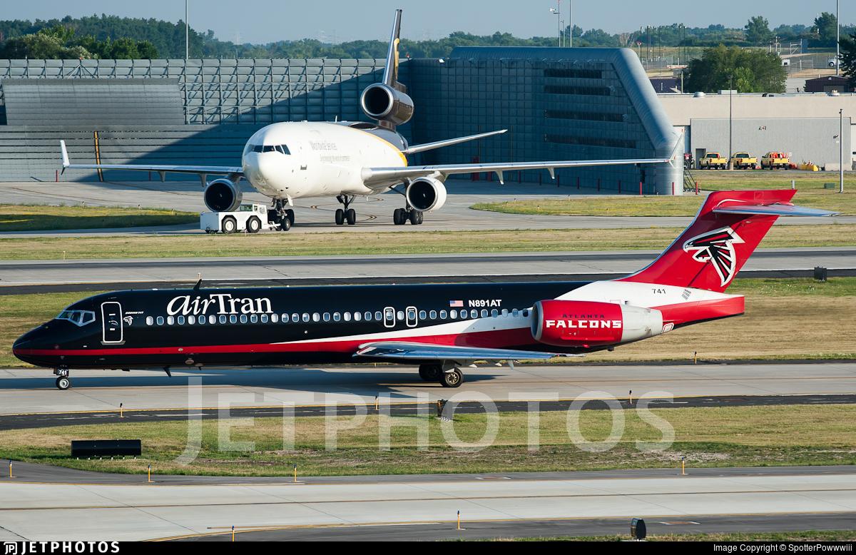 N891AT - Boeing 717-2BD - airTran Airways