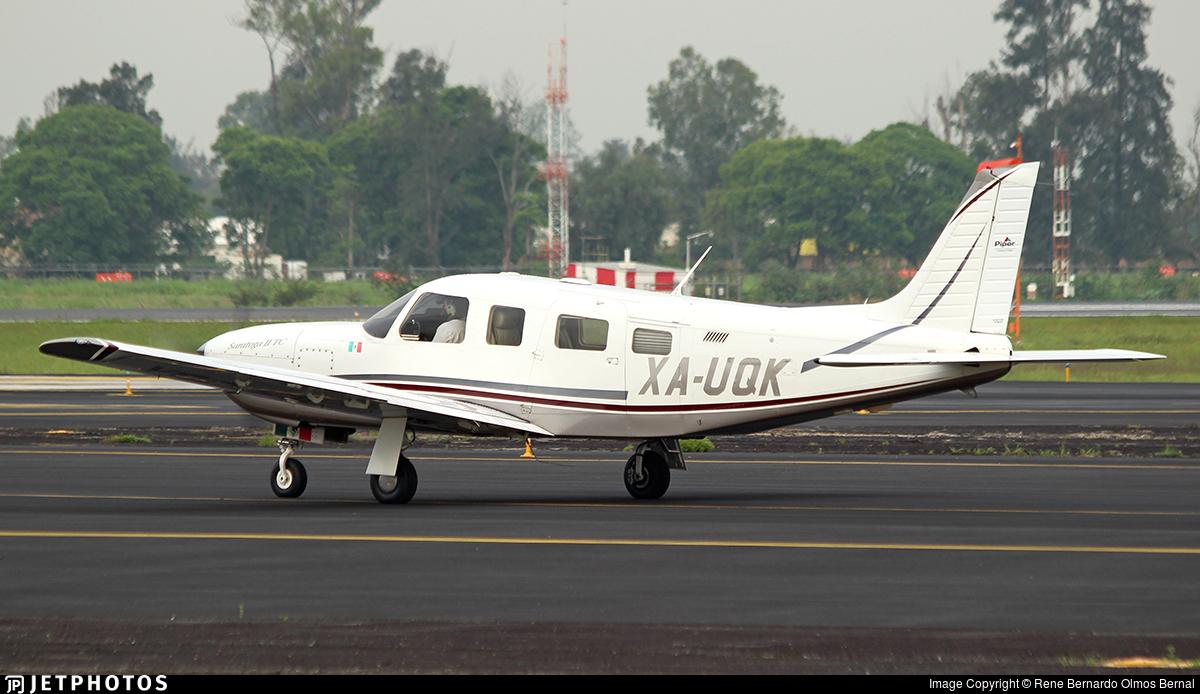XA-UQK - Piper PA-32R-301T Saratoga II TC - Private