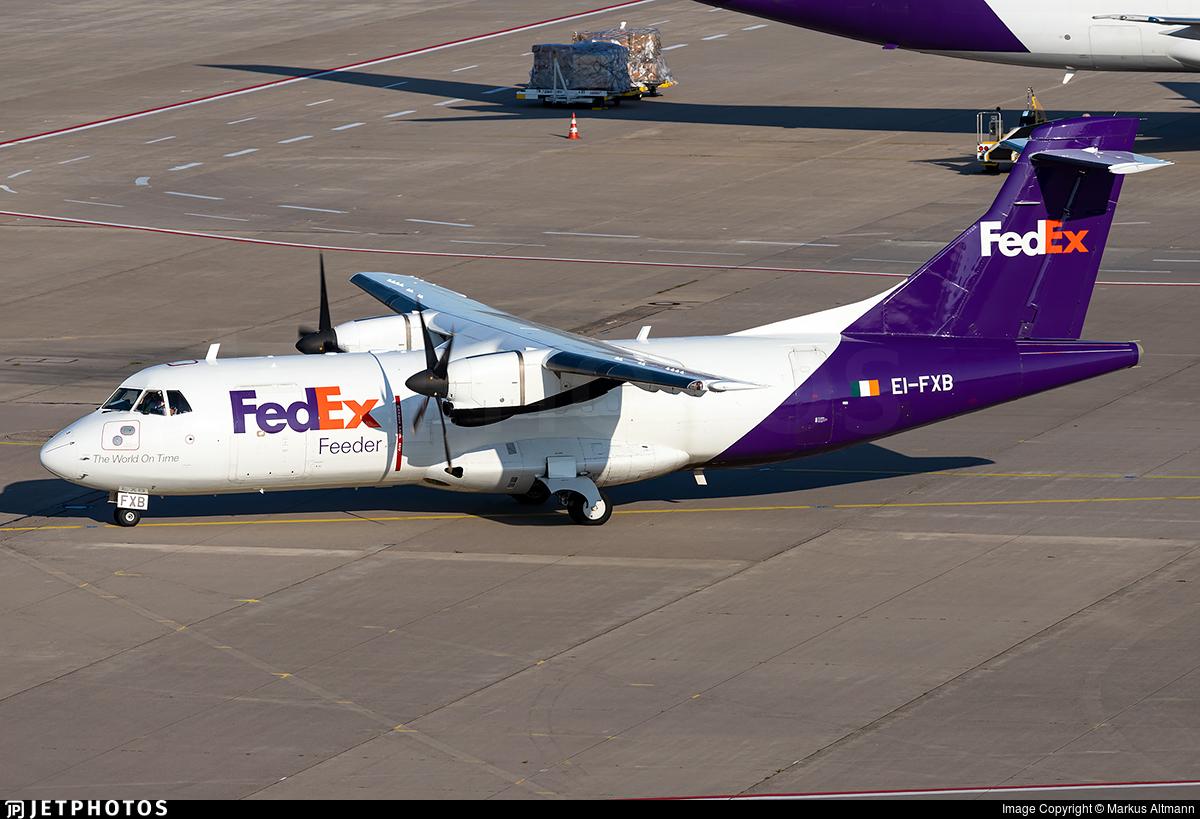 EI-FXB - ATR 42-300(F) - FedEx Feeder (ASL Airlines)