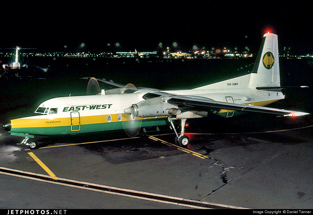 VH-EWV - Fokker F27-500 Friendship - East-West Airlines