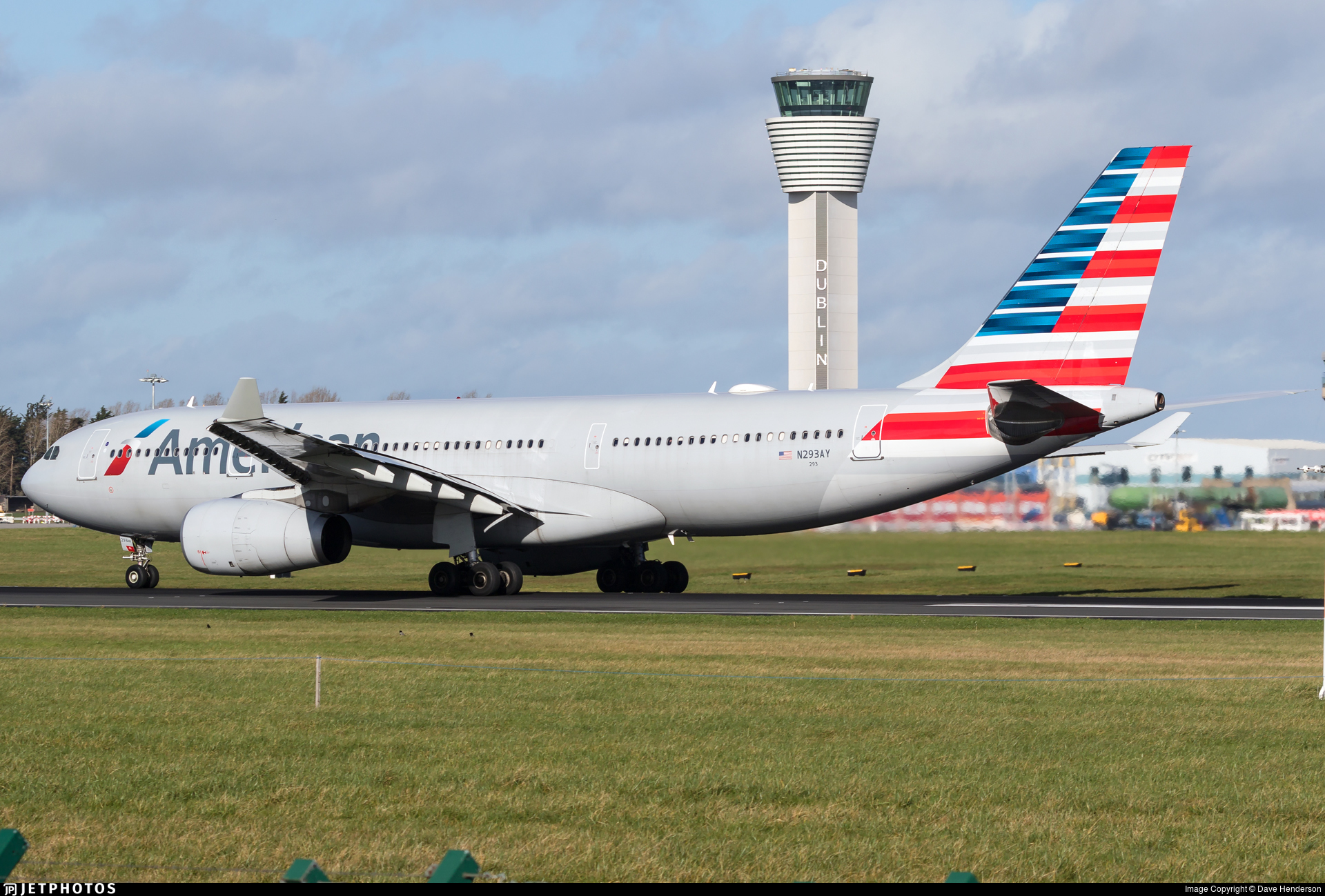 N293ay Airbus A330 243 American Airlines Dave