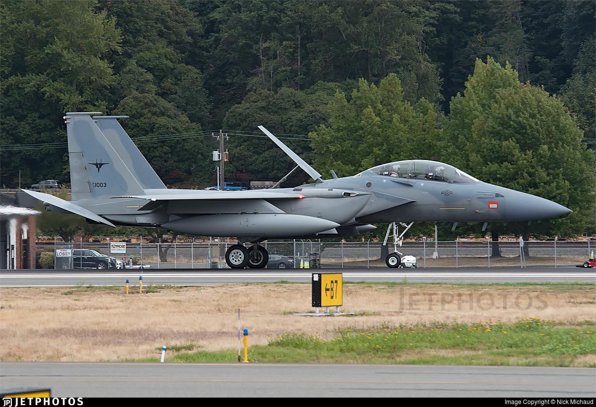 12-1003 - Boeing F-15SA - Saudi Arabia - Air Force