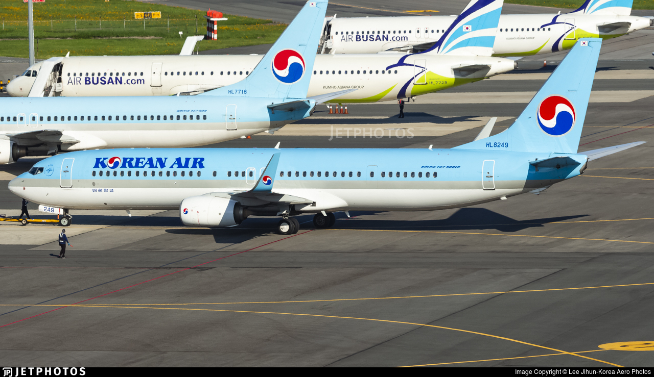 HL8249 - Boeing 737-9B5ER - Korean Air